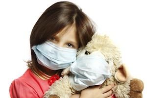 Flu Season child