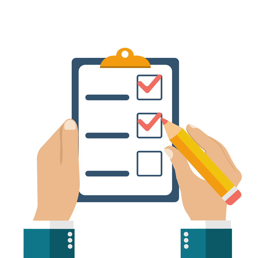 Maintenance plan checklist