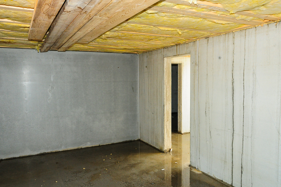 moisture in basement