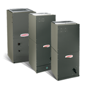 Three different air handler models