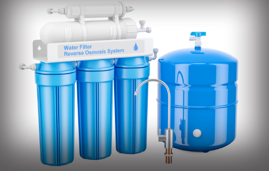 A reverse osmosis water treatment system