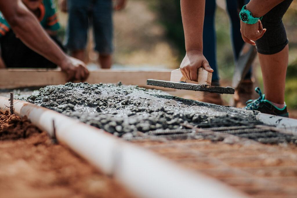 Slab foundation in Raleigh, NC