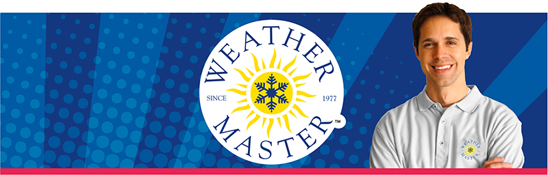 Weather Master landing page banner